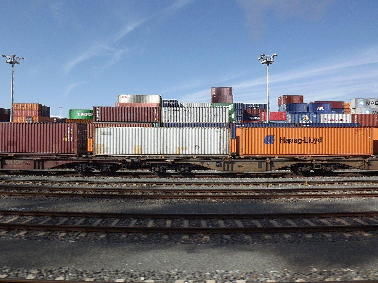 freight train, freight transport, transport of goods