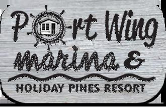 port-wing-marina-holiday-pines-resort-logo