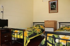 Standar Room Twin Bed Shared Facilities