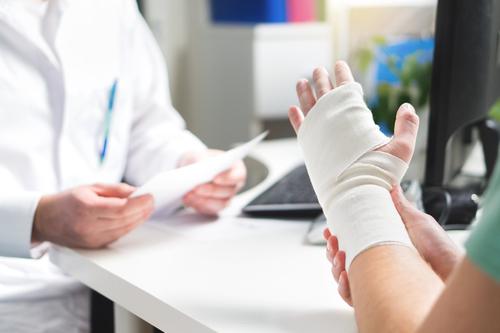 broken hand by Tero Vesalainen shutterstock_788107459