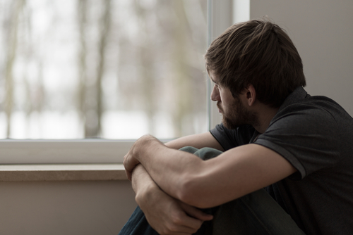 lonely man by Photographee.eu shutterstock_272173868