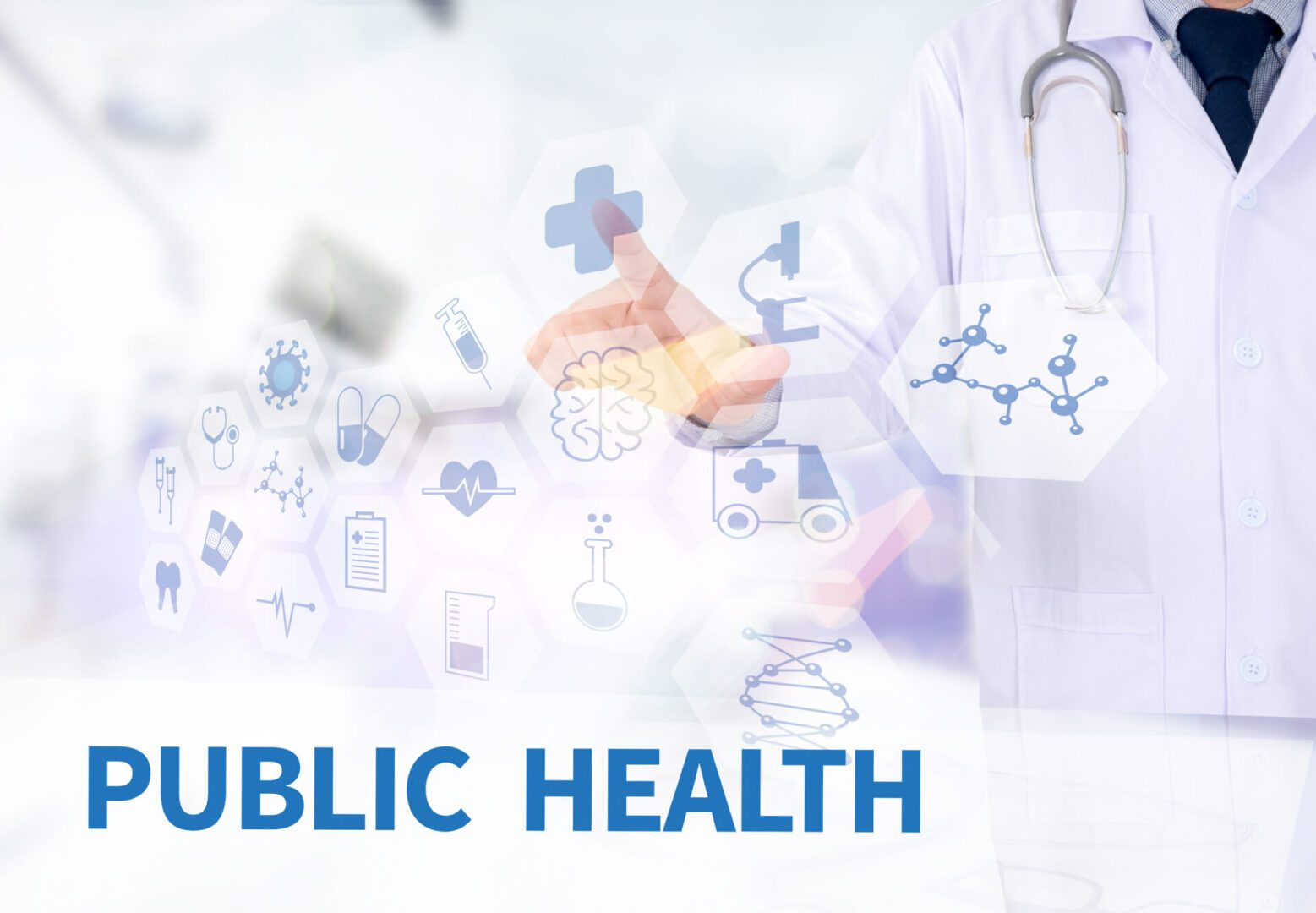 Public,Health,Medicine,Doctor,Working,With,Computer,Interface,As,Medical