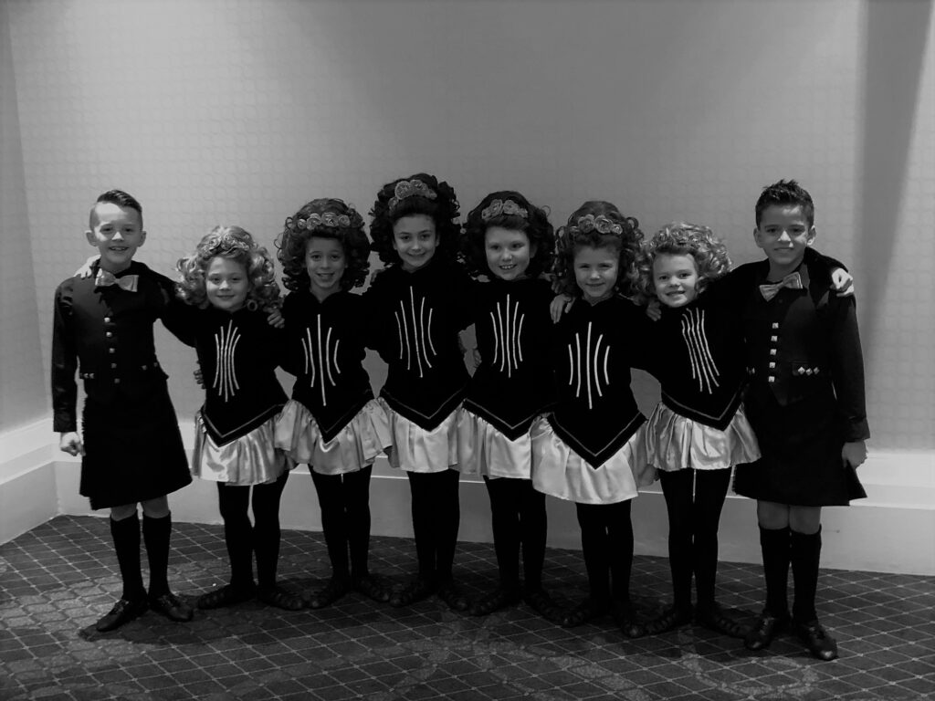 8-Hand boy and girl mixed Ceili team at Oireachtas 2020.