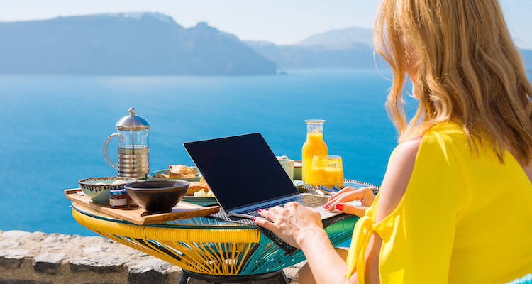 A day in the life of a freelancer varies greatly, and isn't all glamorous travel and minimal working hours.