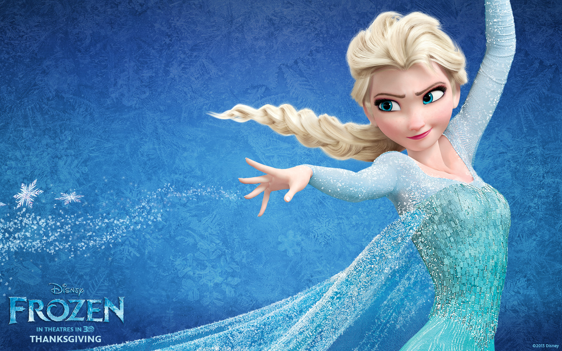 "My new hero: Queen Elsa from ""Frozen"""