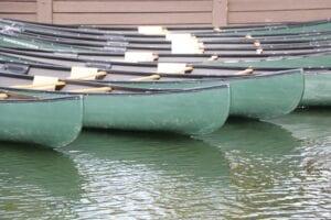 Edison Avenue canoes