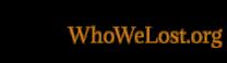 WhoWeLost