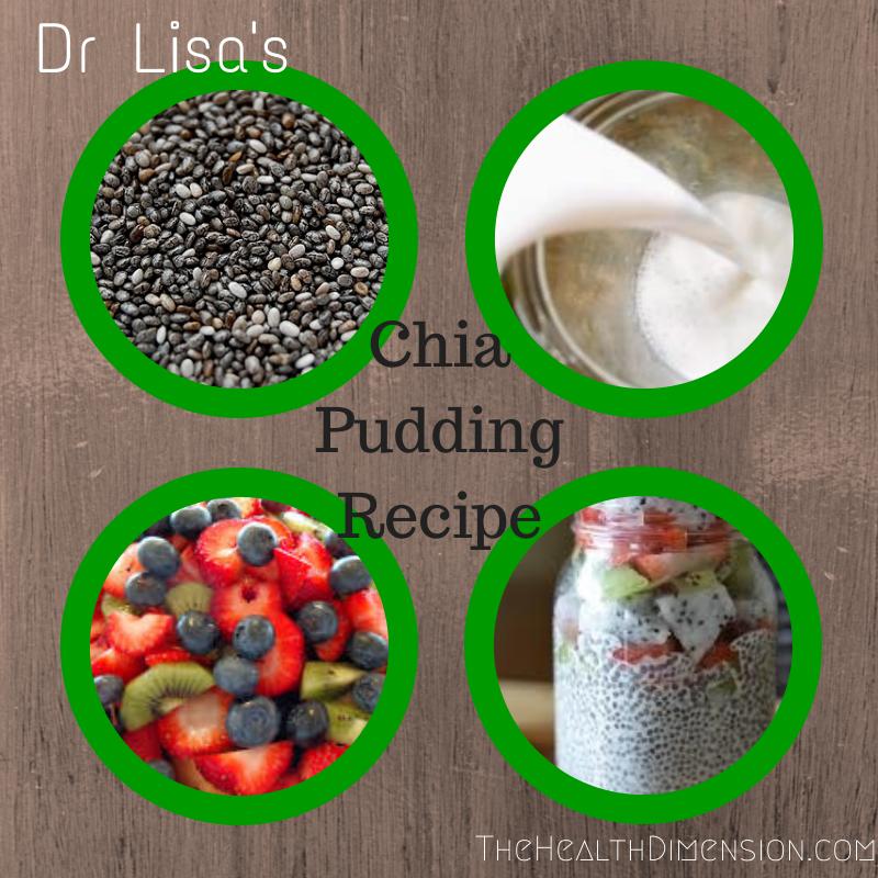 chia seed coconut milk pudding recipe