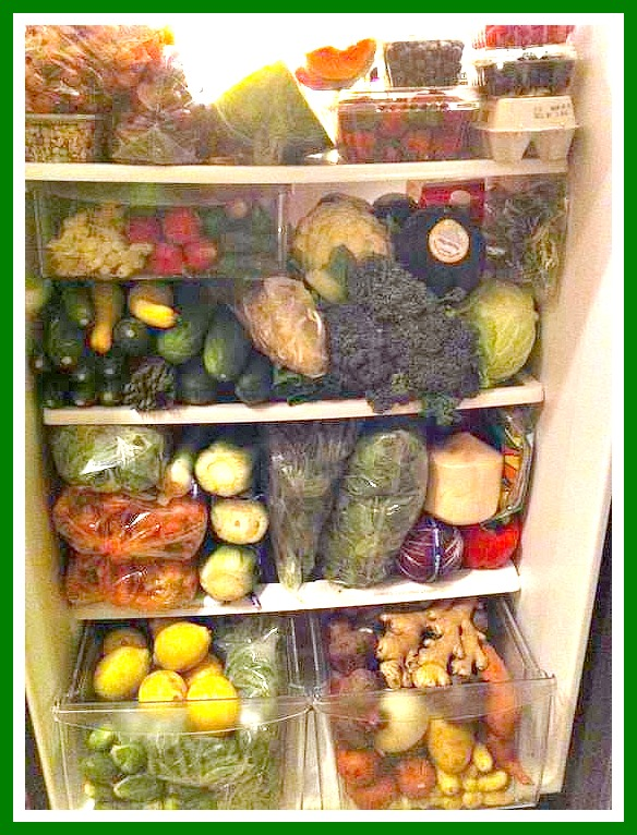 what's in your fridge fruits and vegetables