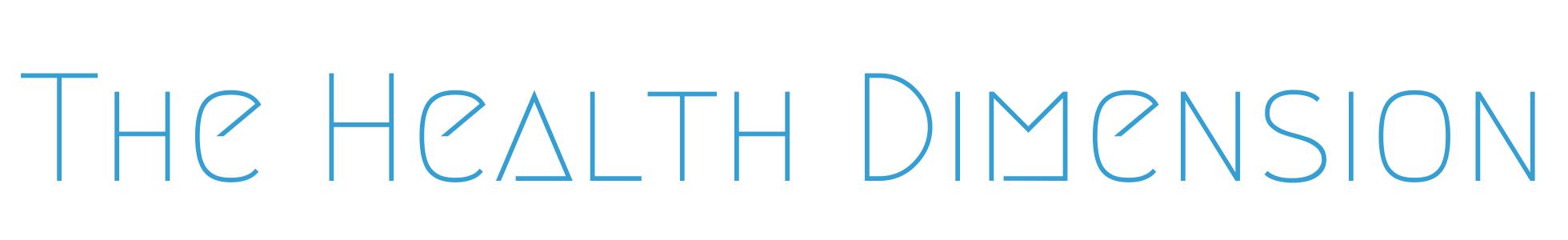 The Health Dimension Logo 1960×300