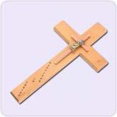 cross with light orange design