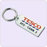 key chain with Tesco design
