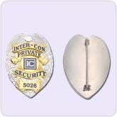 inter-con private security badge