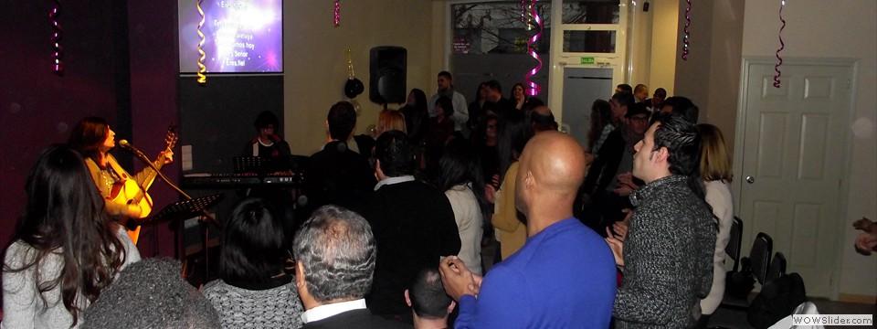 Celebrate 15 years ofthe Encuentro Cristiano Church