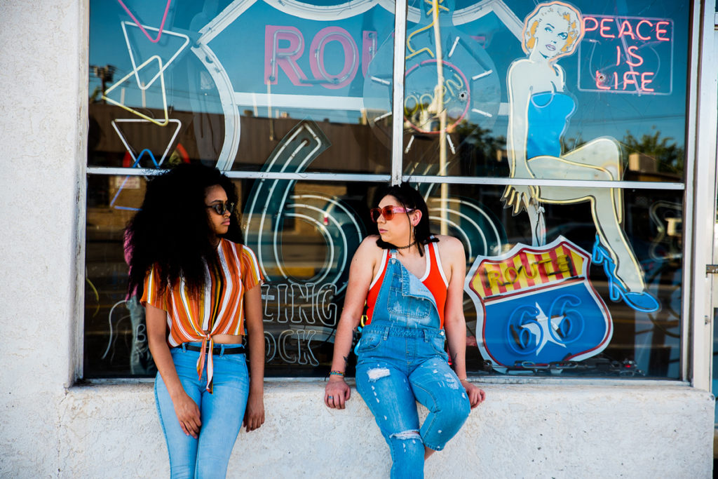 90's Inspired Shoot in El Vado Motel & Nob Hill