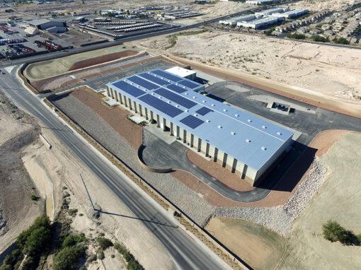 70 TPH Single Stream Processing Facility – SNRC – North Las Vegas, NV