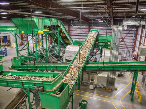 Feedstock Processing Building – Fulcrum Bio-Fuels Expansion – Sparks, NV