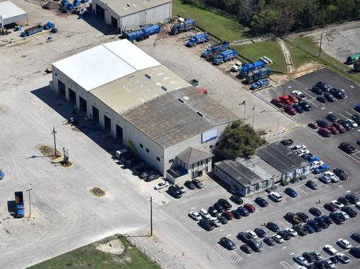 San Antonio Truck Maintenance Shop Design-Build