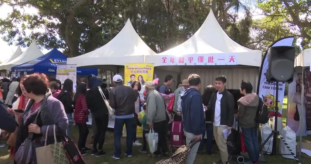 商戶和華人社區踴躍參與TVB Anywhere 嘉年華