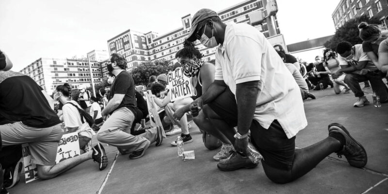 Taking a knee blm | BLM protest image