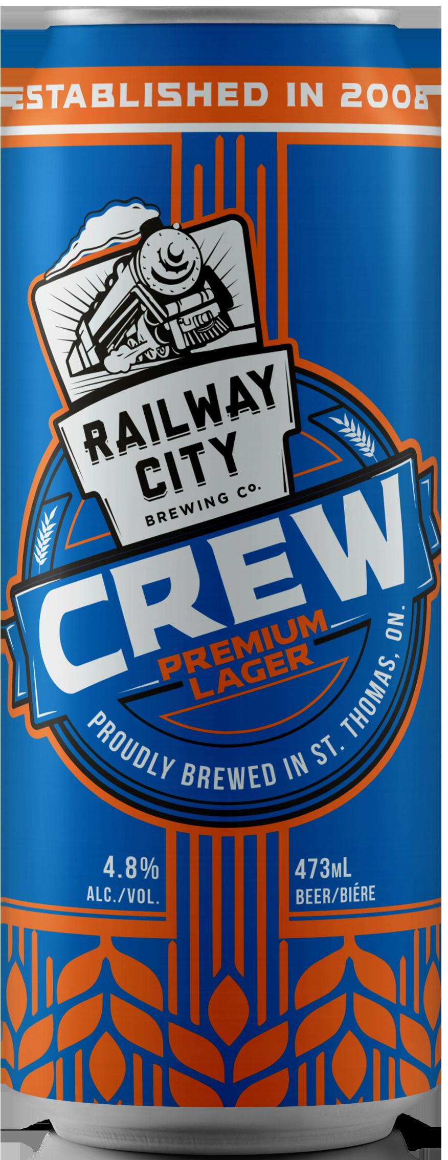 Crew Premium Lager Can