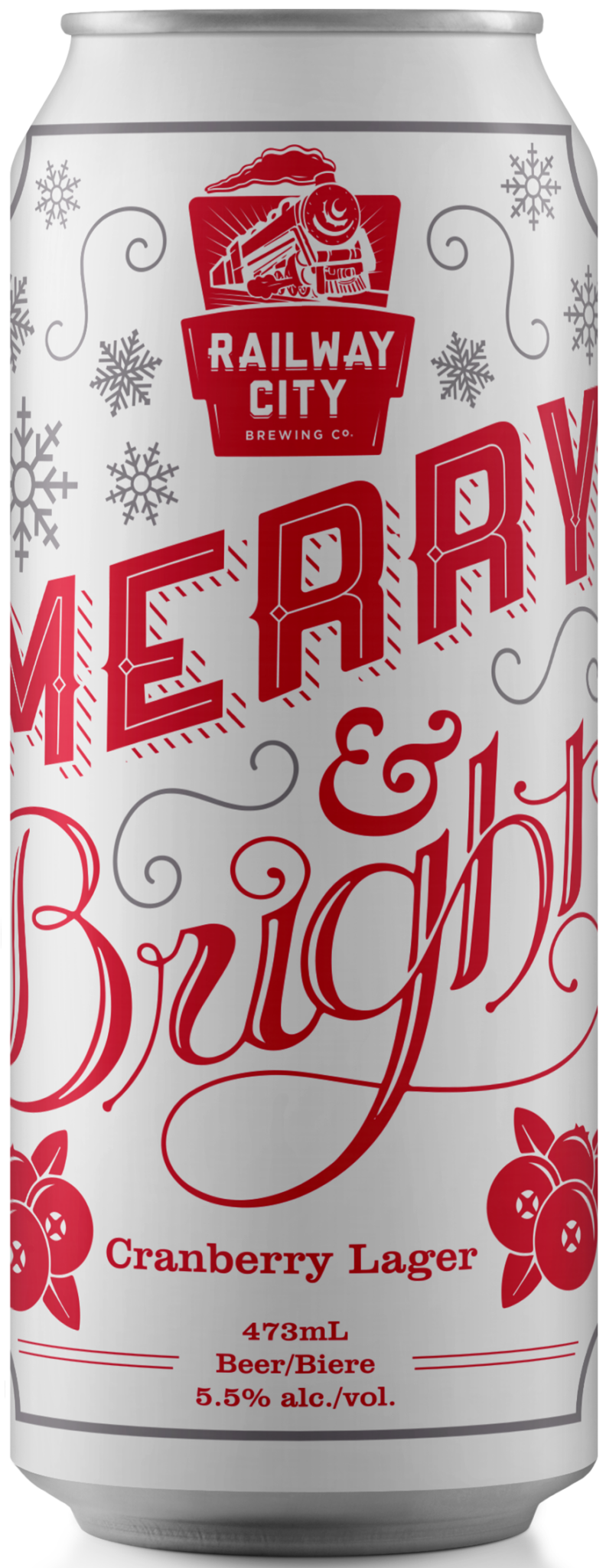 Merry & Bright Can