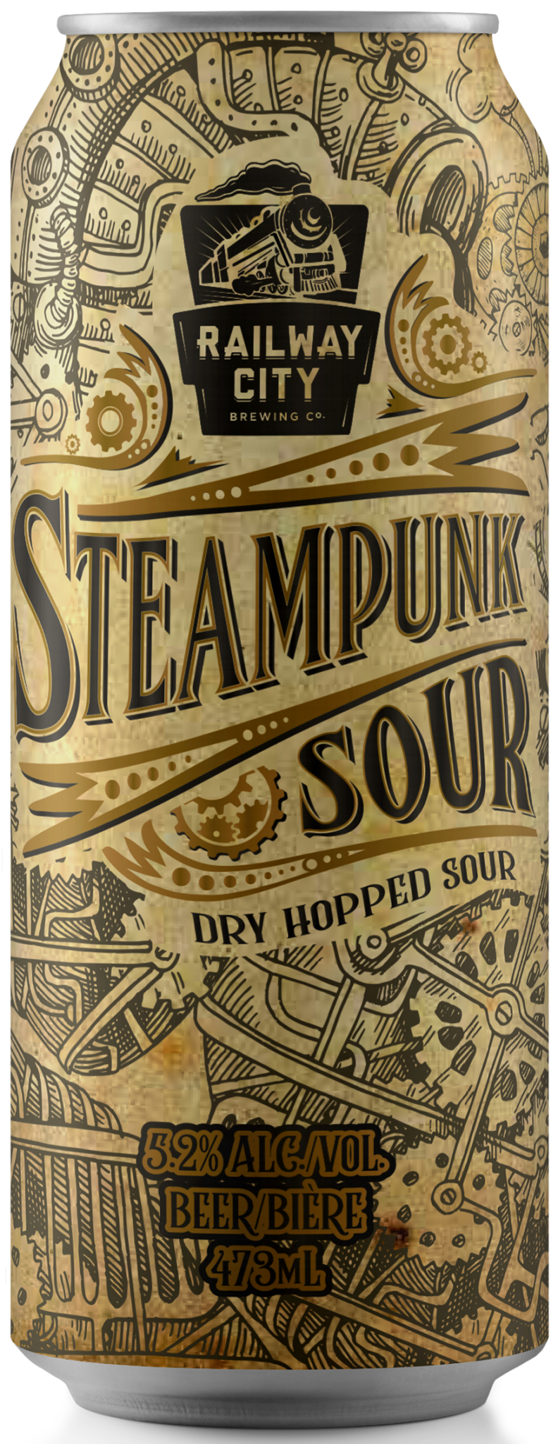 Steampunk Sour Dry Hop Can