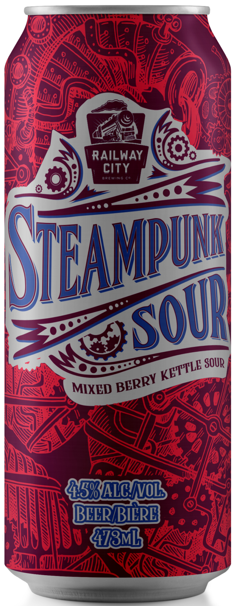 Steampunk Sour Mixed Berry Can