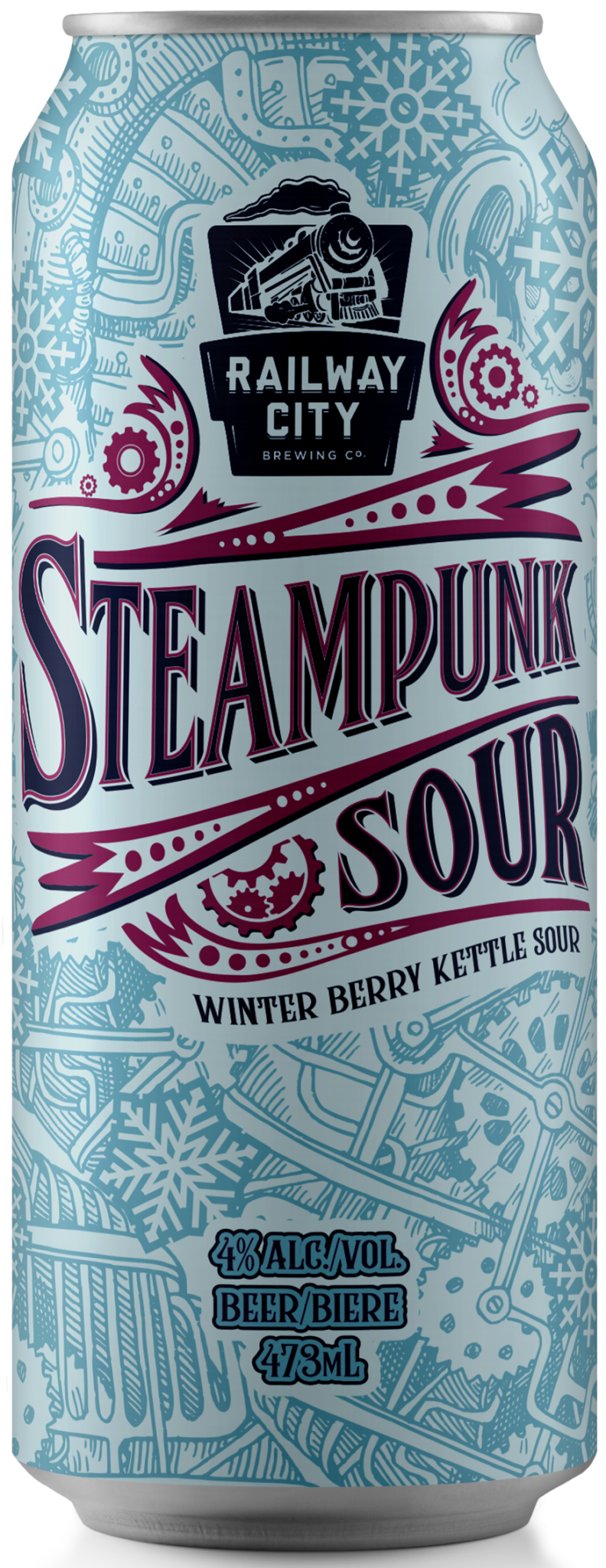 Steampunk Sour Winter Berry Can