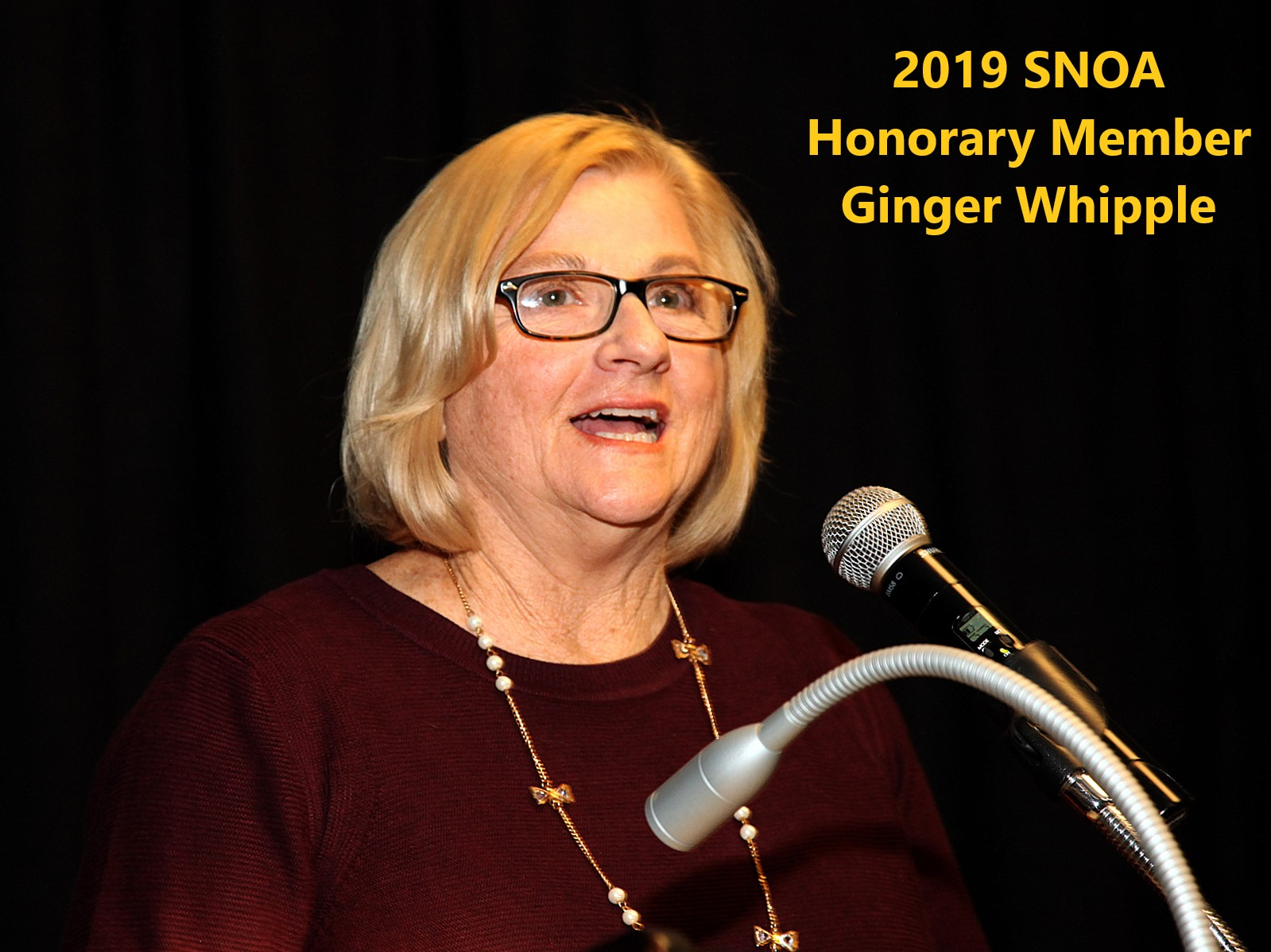2019 Banquet Ginger Whipple