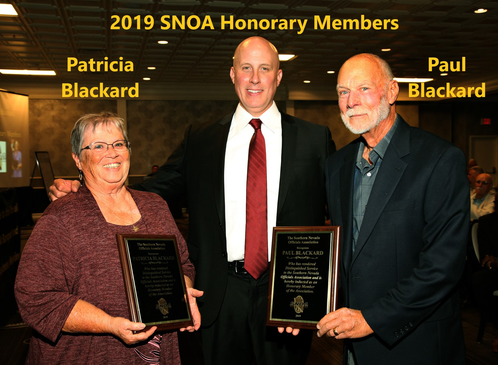 2019 Banquet Paul and Patricia Blackard
