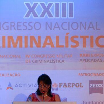 XXIII Congresso Nacional de Criminalística