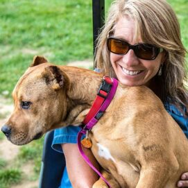 Aimee Sadler Dog Trainer Dogs Playing for Life Founder