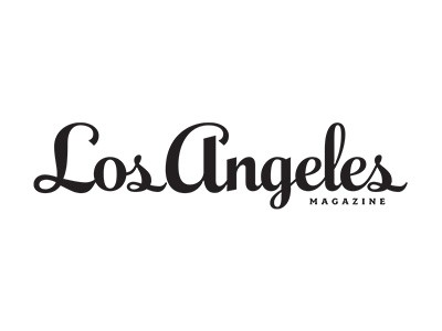Los Angeles Magazine Dogs Playing for Life