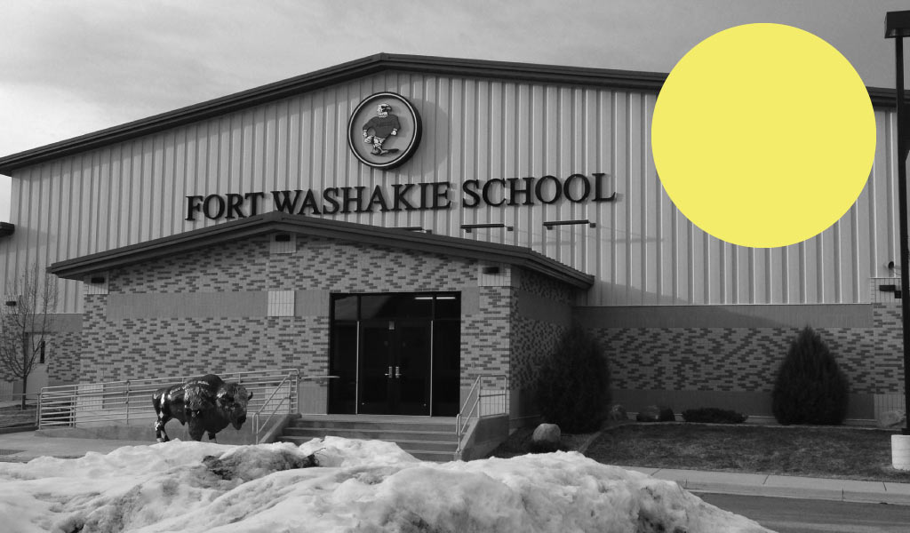 Fort Washakie School WY