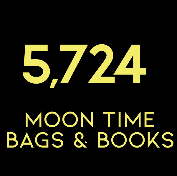 5,724 Moon Time Bags & Books