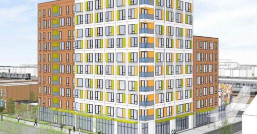 43 Green, Bronzeville, Chicago development rendering