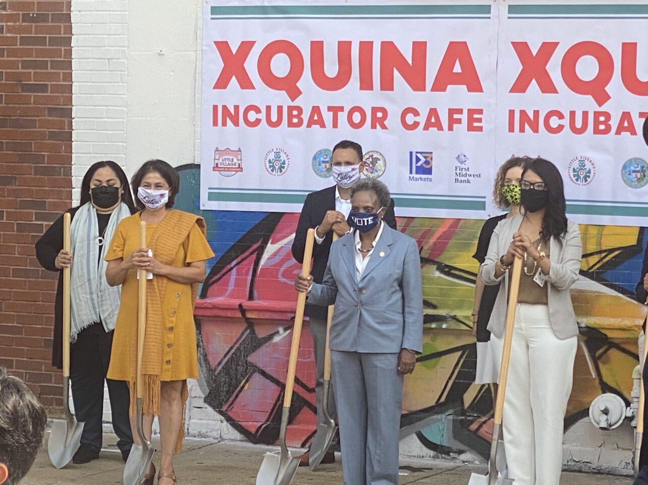 Xquina Groundbreaking - P3 Markets