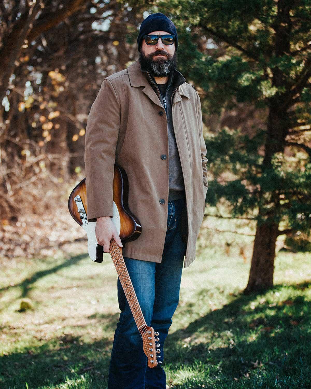 Musician with Guitar Wichita Kansas