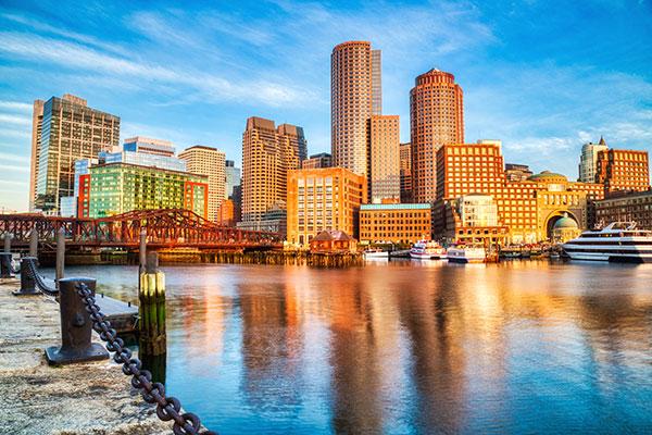 Perez Morris, Boston, Massachusetts, photo of Boston skyline