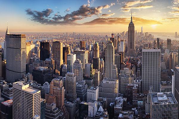 Perez Morris, Manhattan, New York, photo of New York skyline