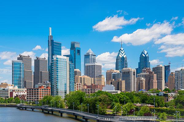 Perez Morris, Philadelphia, Pennsylvania, photo of Philadelphia skyline