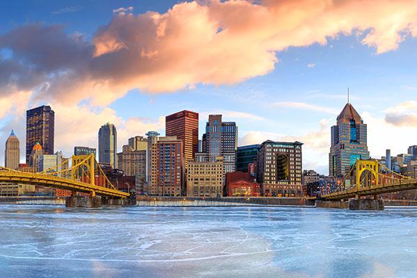 Perez Morris, Pittsburgh, Pennsylvania, photo of Pittsburgh skyline
