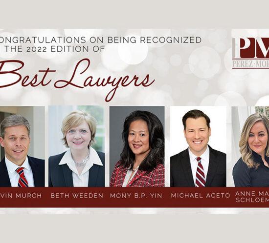 Perez Morris Best Lawyers in America
