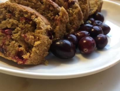 Butternut Squash Cranberry Bread