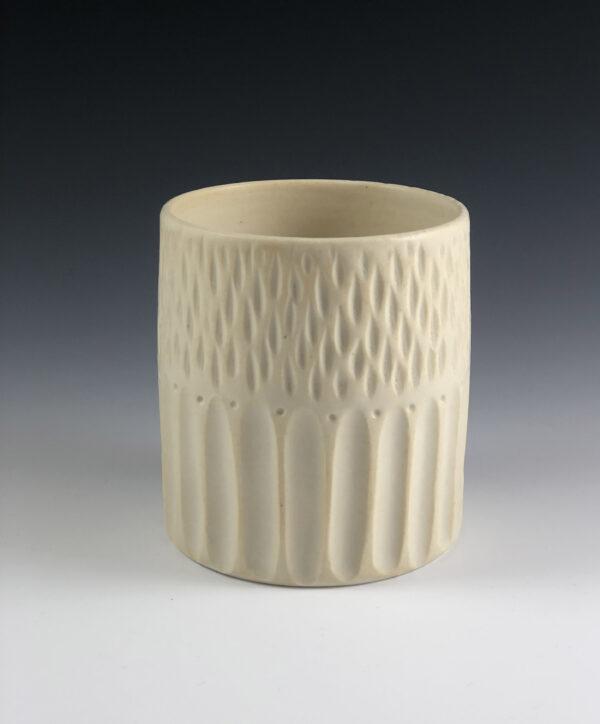 porcelain pottery tumbler