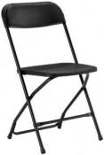 Samsonite Chair, Black