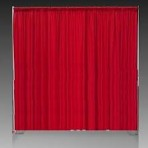 Pipe and Drape, Ruby Red