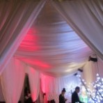 Custom Tent Swagging and Draping