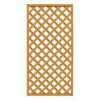 Lattice Screen, Natural Wood 4′X8′